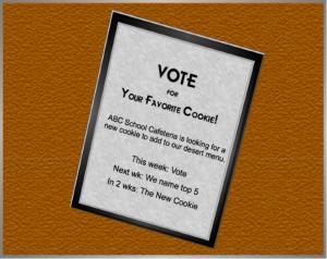vote 4 cookie board2